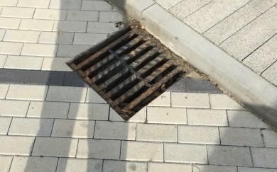 Čistenie dažďových kanalizačných vpustí