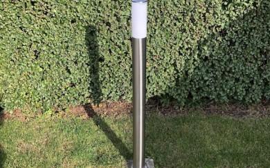 Oprava vonkajšej sprchy a záhradnej lampy