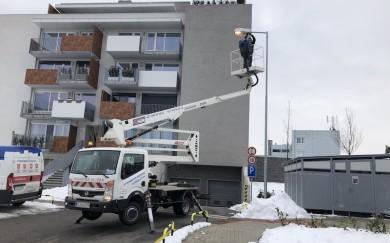 Oprava a nastavenie areálového vonkajšieho osvetlenia