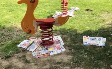 Ošetrenie a vymaľovanie prvkov detského ihriska