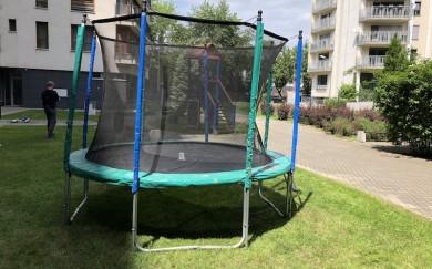 Montáž trampolín