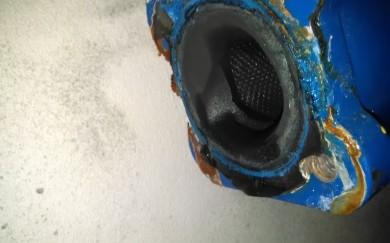 Oprava pretekajúceho filtra v kotolni